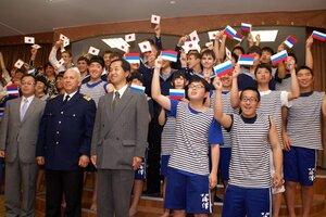 В Находку прибыли японские курсанты