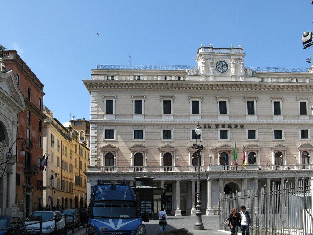 Рим. Дворец Ведекинд (Palazzo Wedekind)