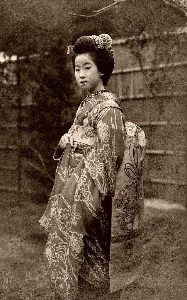 японские куртизанки,