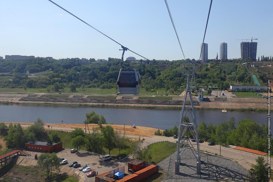 Нижний Новгород канатка фото