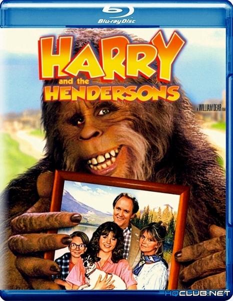 Гарри и Хендерсоны / Harry and the Hendersons (1987/HDRip)