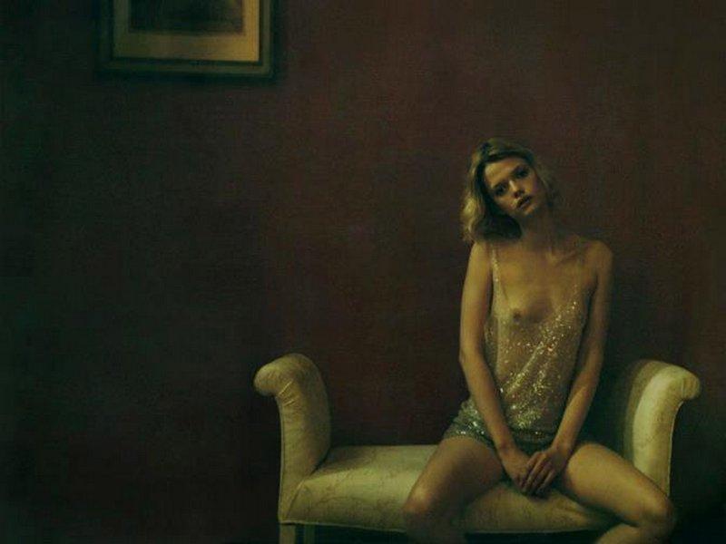 Откровенные снимки Анеты Бартош