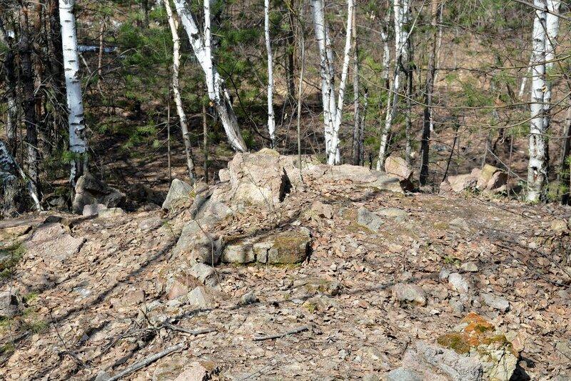 Развалины геологоразведки