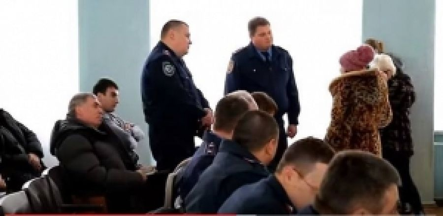 На пресс-конференцию полицаев Харьковщины посетили активисты...