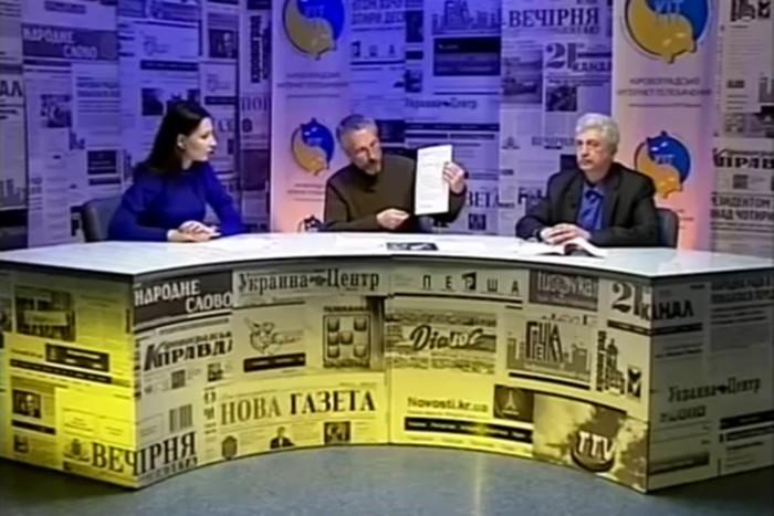 Весняний книговир: Павло Чорний і Роман Любарський у гостях студії КІТ (Кіровоград)