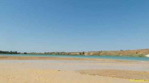 Отдых на Голубом озере под Ростовом