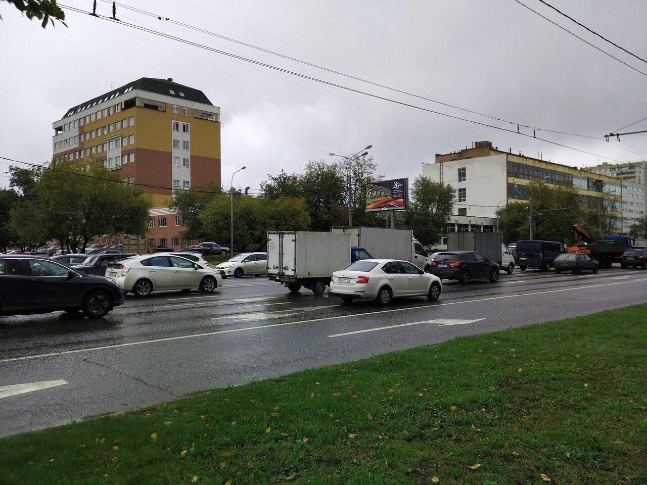 Щелковское шоссе. Пробка.