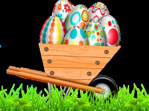 тачка с яйцами