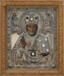 Икона свт. Николая из привокзальной часовни г. Харькова