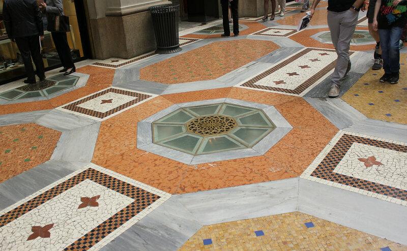 Центр галереи Vittorio Emanuele II