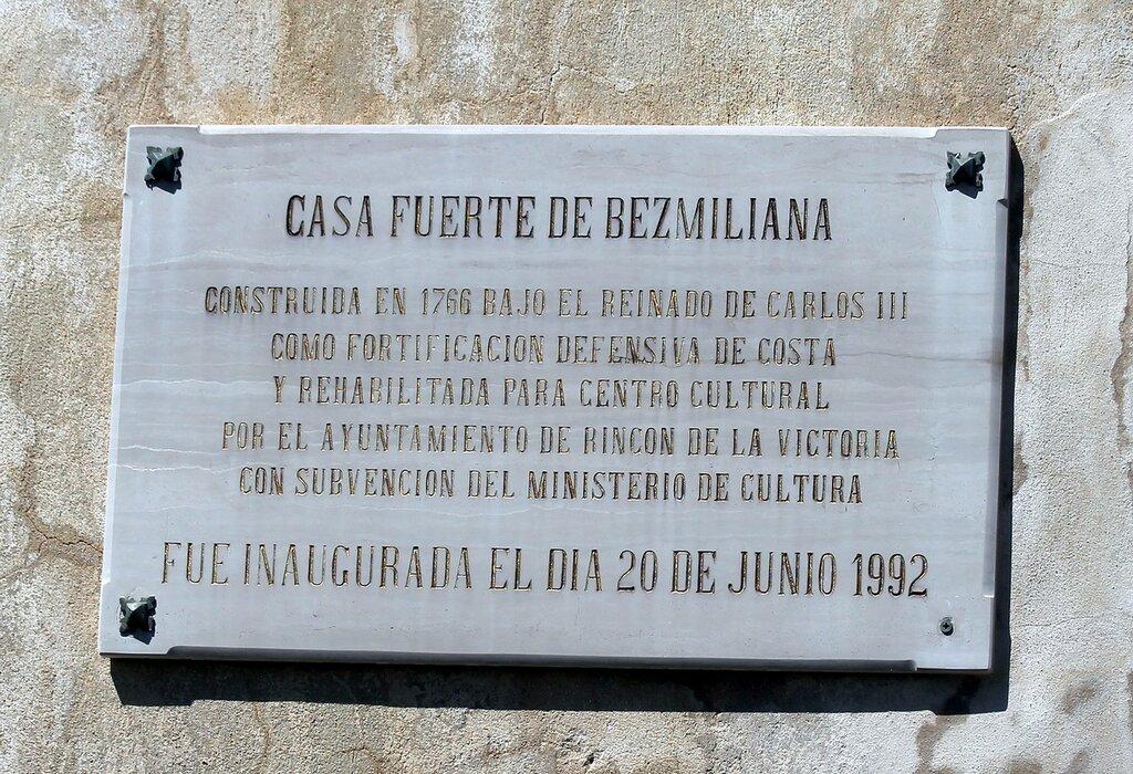 Ринкон-де-ла-Виктория. Крепость Бесмилиана (Castillo de Bezmiliana)