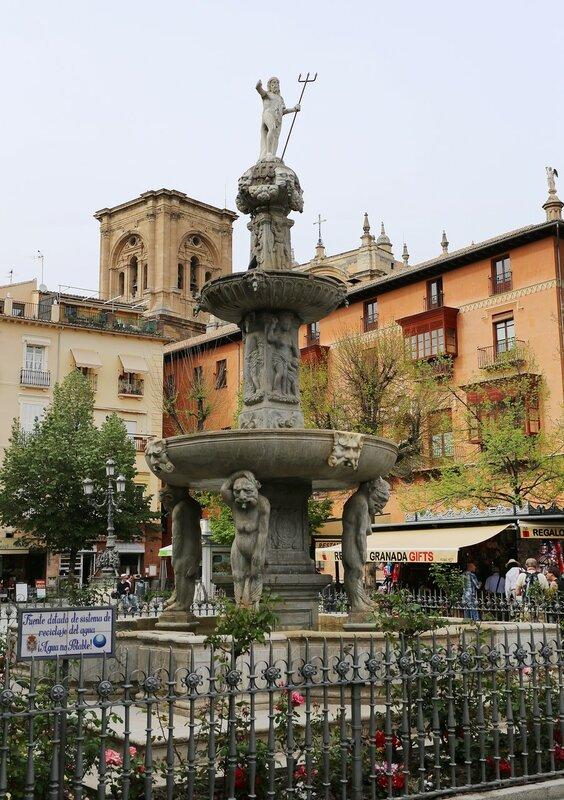 Гранада. Площадь Биб-Рамбла (Plaza de Bib-Rambla)