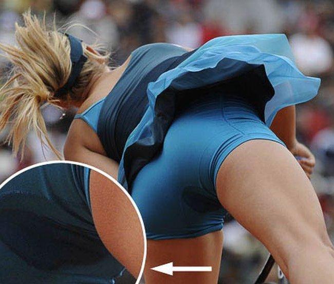 Пикантные фото теннисисток