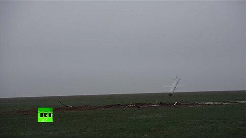 Боевой пуск крылатой ракеты «Искандер-М» по цели. Видео Минобороны РФ