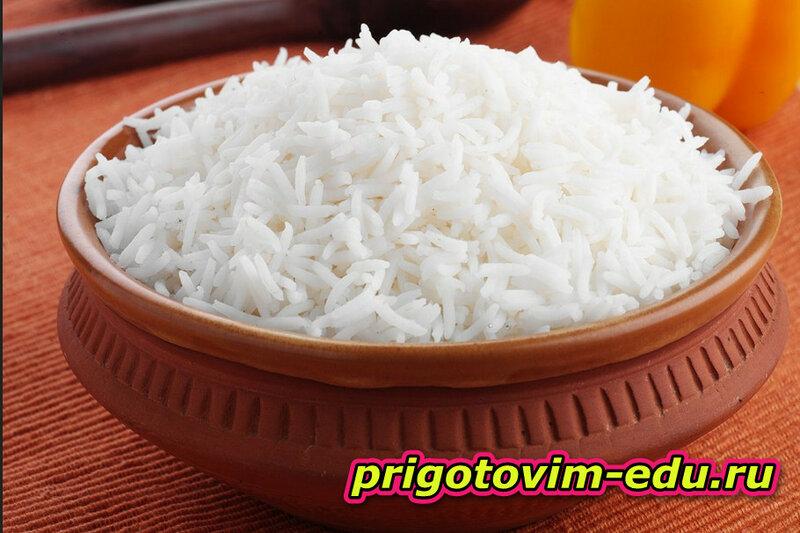 Как правильно готовить рис ?