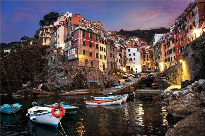 Риомаджоре, коммуна в провинции Ла Специя, Италия Он находится в небольшой долине в регионе Лигурия в Италии.