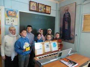 27 марта, в воскресной школе Троицкого храма пос. Удельная Раменского благочиния прошел интегрированный урок, посвященный Всемирному дню воды