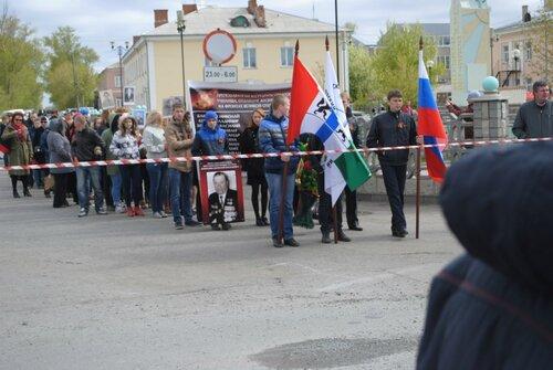Бессмертный полк в Куйбышеве