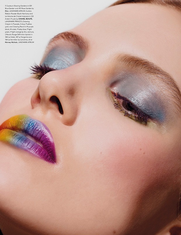 Chasing Rainbows by Rui Faria for Landmark Magazine - Beauty Scene