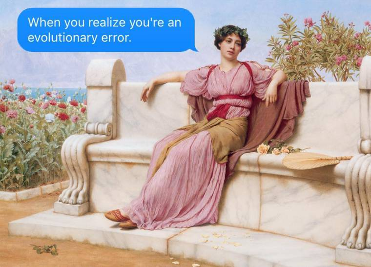 Modern philosophers can't stop sending you text messages