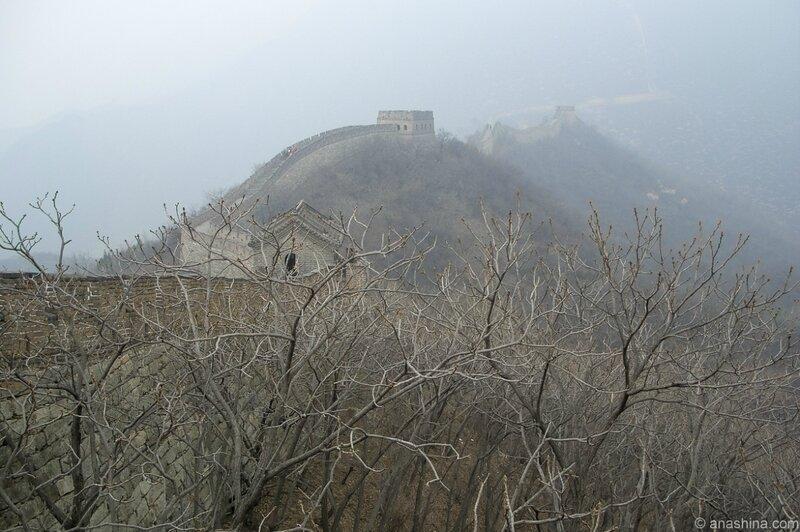 Весна, Мутяньюй, Великая китайская стена