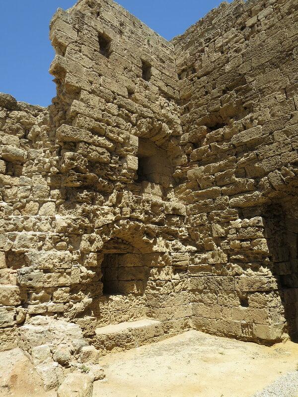 Фамагуста. Крепость. Северный конец западной стены.