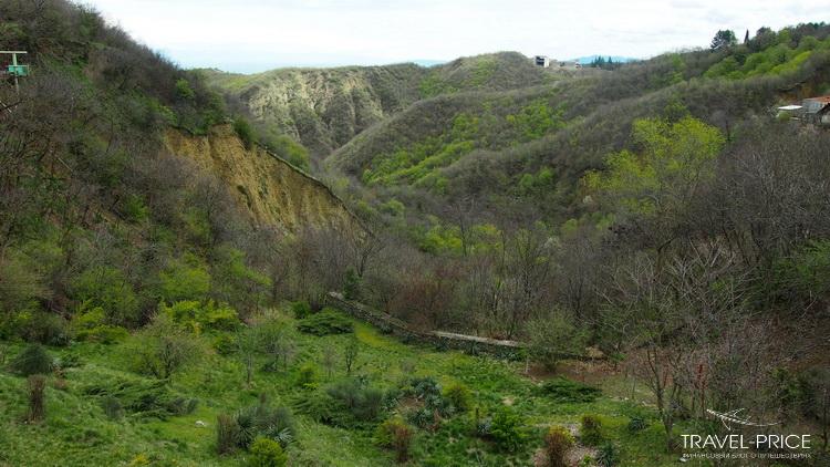 Ущелье в Сигнахи