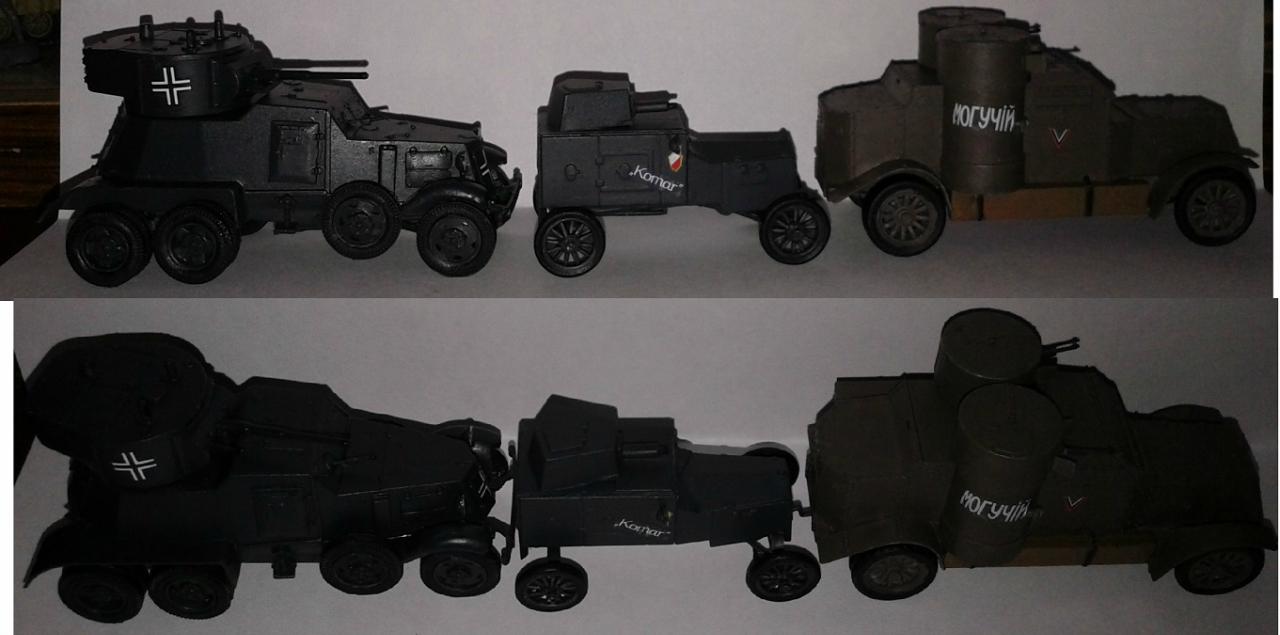 72100 RPM - Samochod pancerny Ford Tfc
