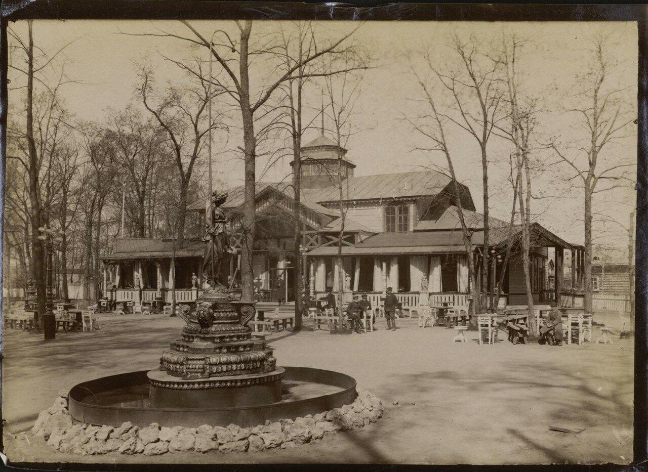 08. Панаевский сад, фонтан и ресторан