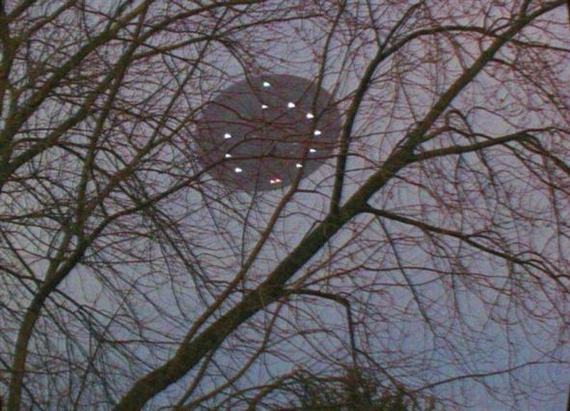 НЛО над Грин-Бей, штат Висконсин. США Январь 2007 года