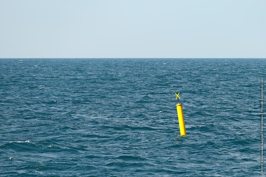 Каспийское море обстановочный знак