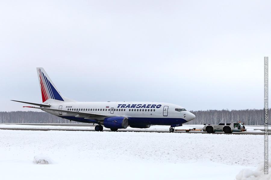 Boeing 737-7Q8 (EI-EUX) «Трансаэро»
