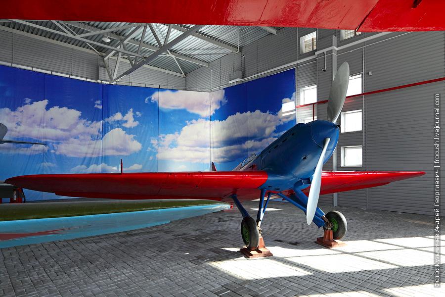 Экспериментальный истребитель, испытанный В.П.Чкаловым. Самолет И-17
