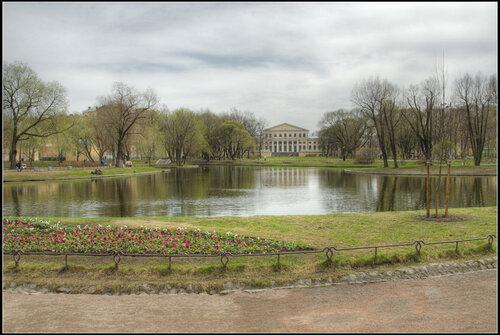 Юсуповский парк. Санкт-Петербург. Май 2013.