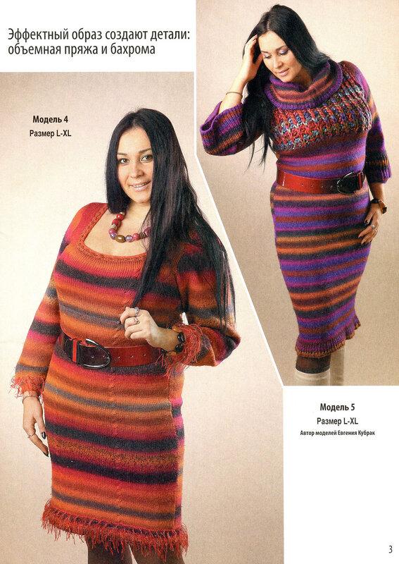 Модели Вязаной Одежды Для Полных