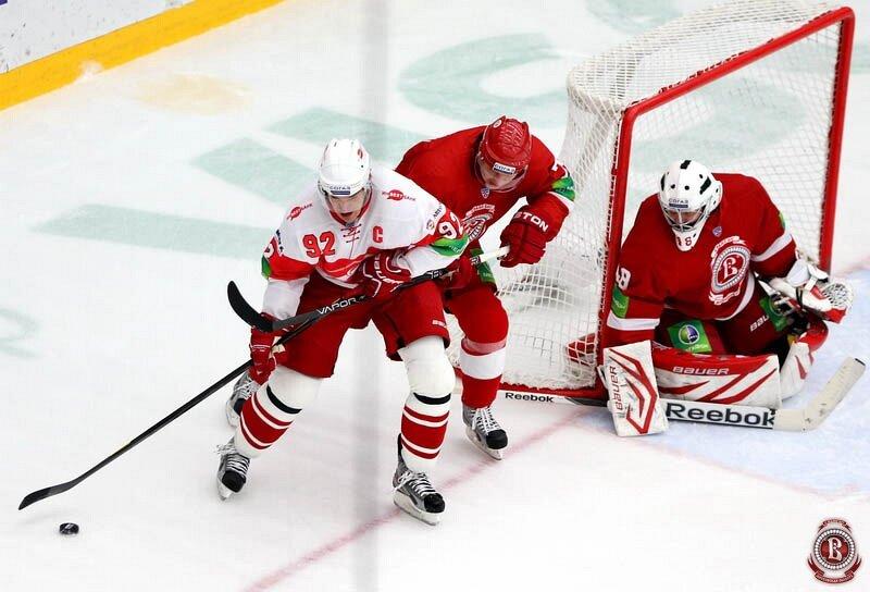 «Витязь» vs «Спартак» 3:4 Б чемпионат КХЛ 2012-2013 (Фото)