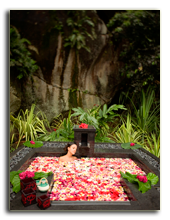 Сейшелы. О. Маэ. Banyan Tree Seychelles. Spa Floral Bath