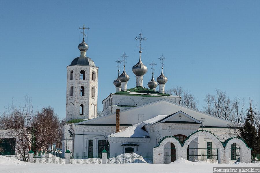 Цивильск. Собор Троицы Живоначальной.