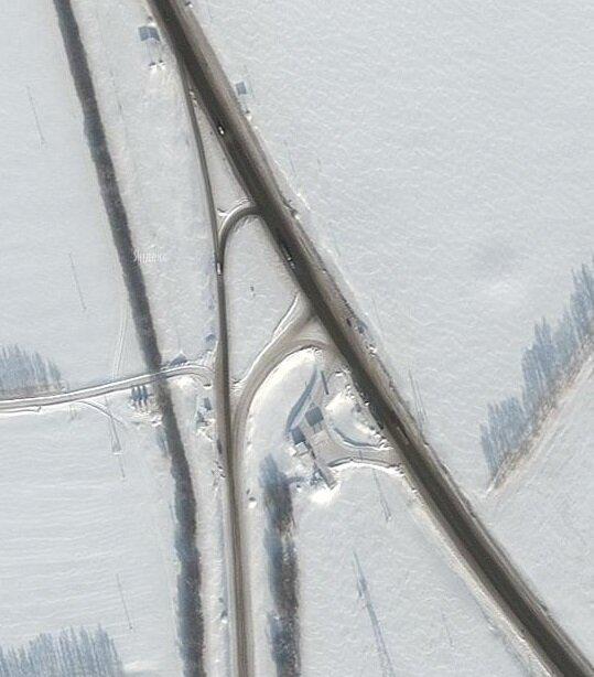 М4 Дон 585 км развязка Лиски реконструкция Воронежская область Яндекс