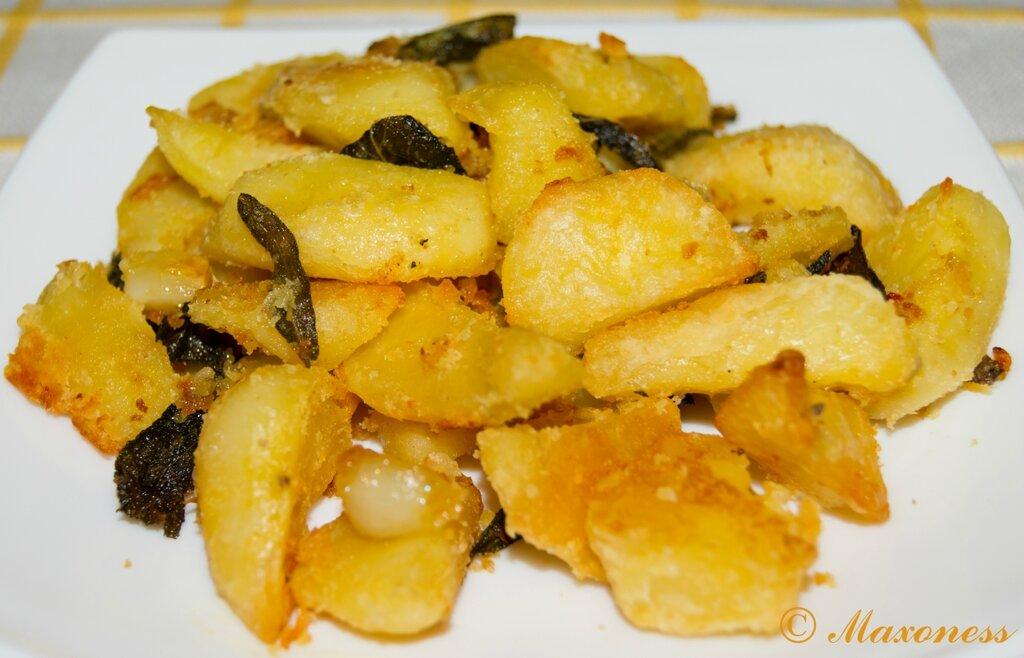Новогодняя печеная картошка
