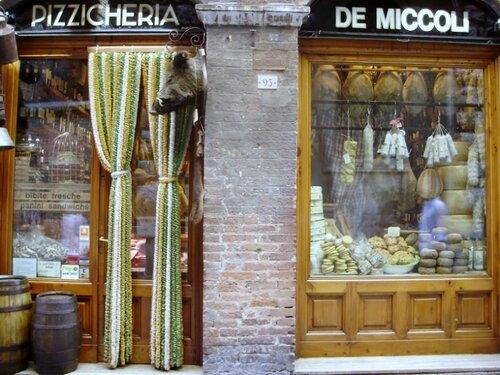 Магазинчик в Сиене