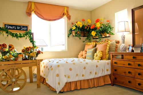 Интересные спальни