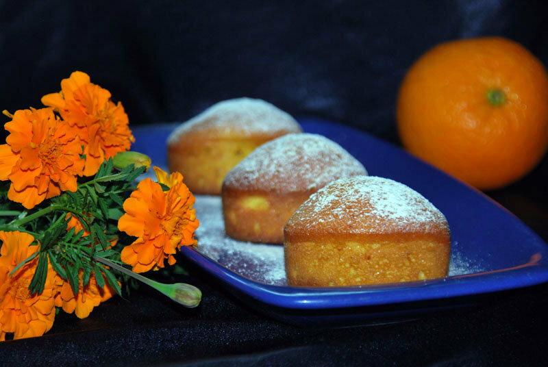 Итальянский апельсиновый кекс Ciambellone