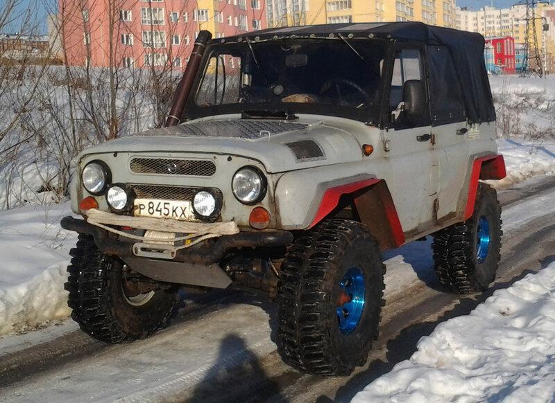 Мой УАЗ-31514