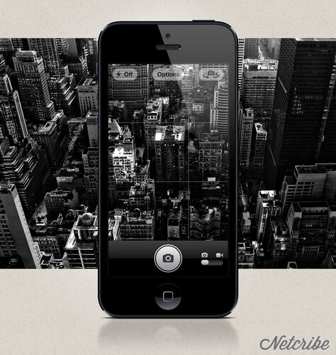 Netcribe: iPhone 5 PSD