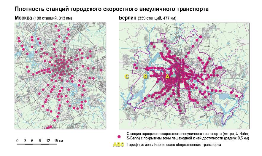 метро в Москве и Берлине