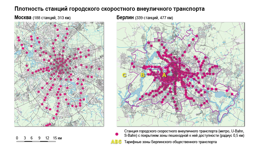 Как работает город. Тарифные системы общественного транспорта Берлина и Москвы.