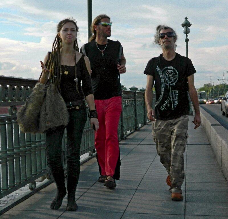 Трое на мосту