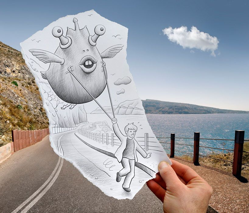 Арт-графика художника Benjamin Heine