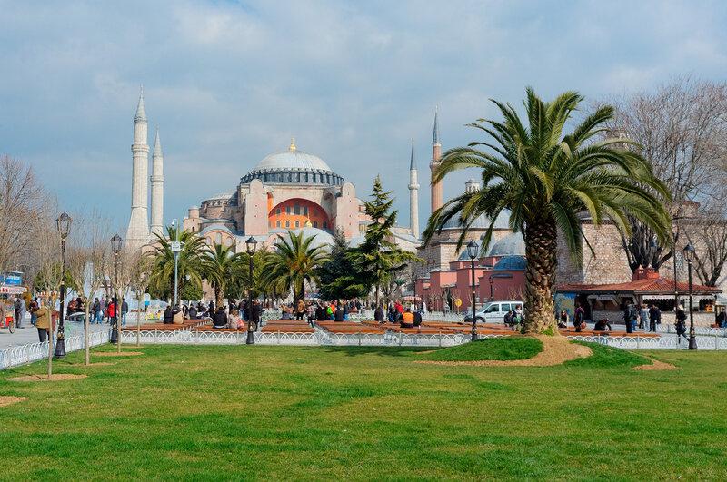 Стамбул. Ая София.
